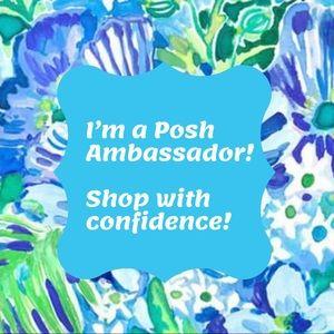 Proud to be a Posh Ambassador!